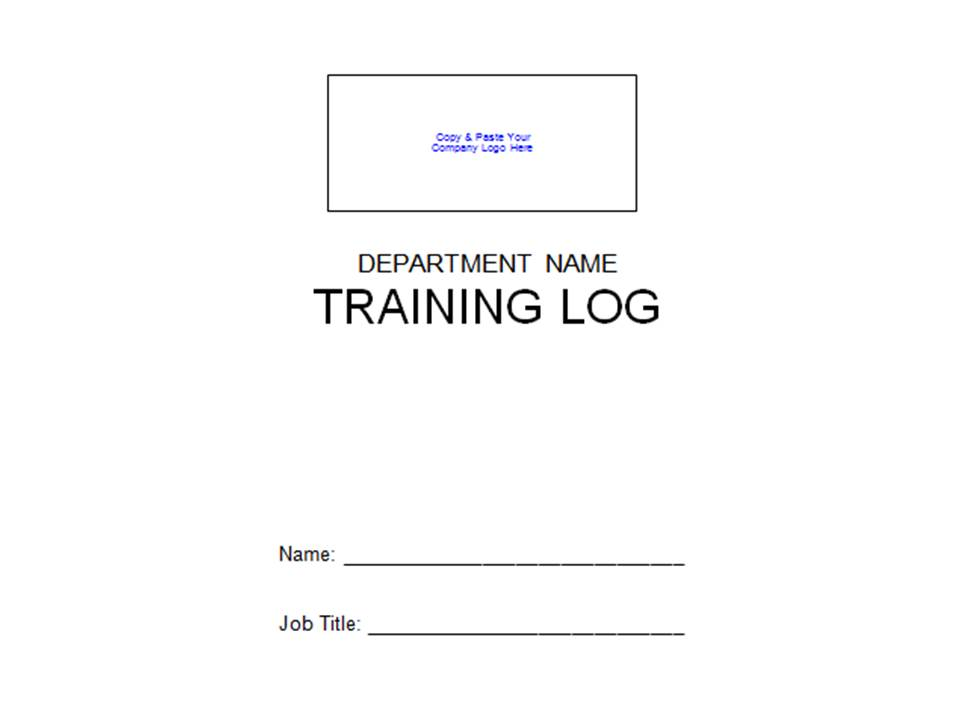 employee training logs